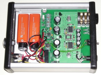 amp interior