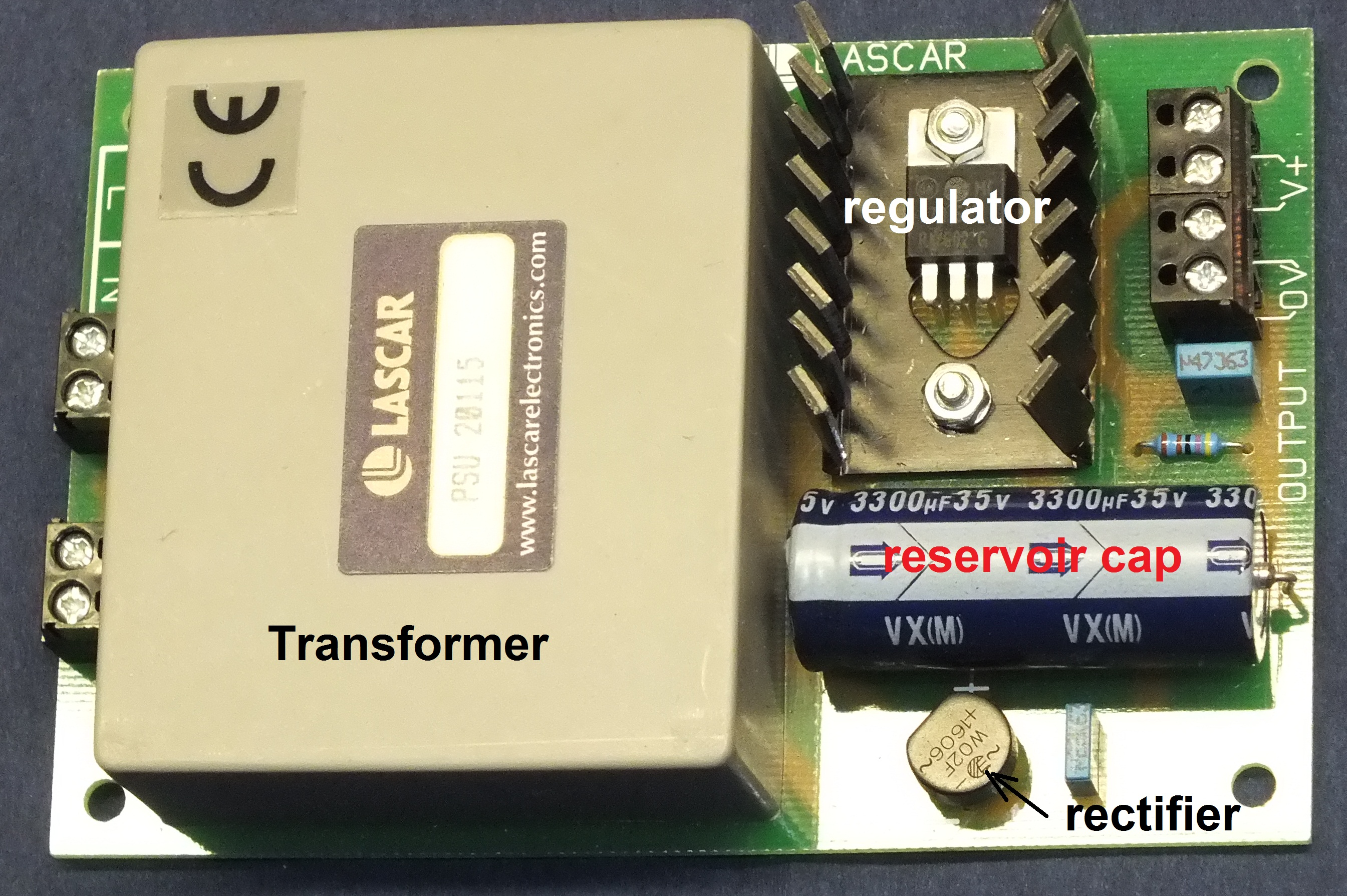 Power Supply Types Diy Audio Heaven An Ordinary Dc Also Called Unregulated Linear Regulated