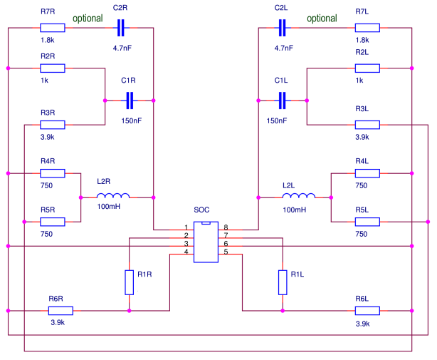 X-feed schematic