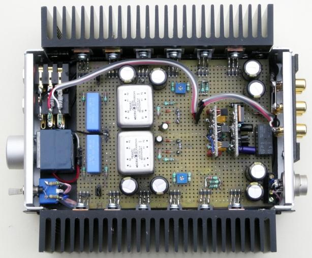 TX amp inside