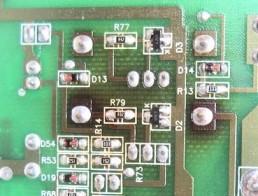 PCB discoloration