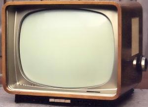 Philips B-W TV