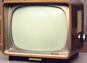 Philips B-W TV
