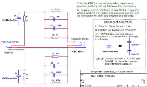 filter schematic
