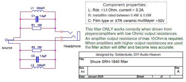SRH-1840 schematic