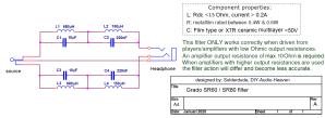 Grado filter schematic