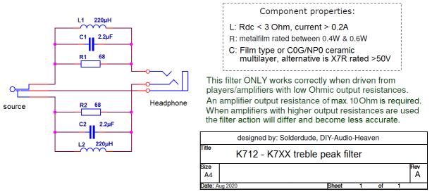 K712-K7XX filter schematic