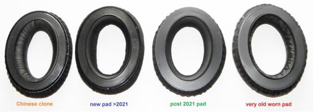4 pads rear